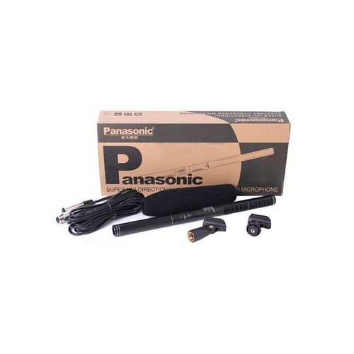 Panasonic Super Uni-Directional Condenser Microphone & Boom Mic For Camera