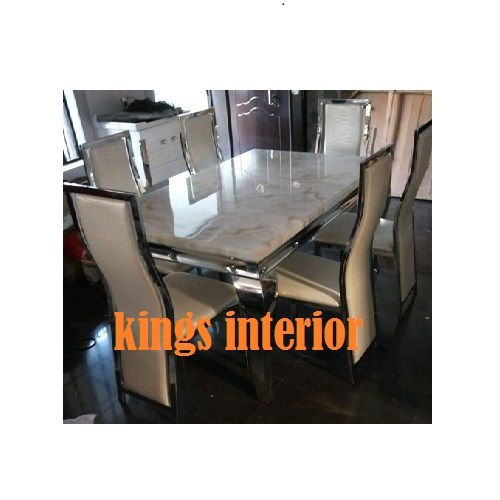 Executive Marble Dinning With 6 Chairs (Lagos Delivery Only)