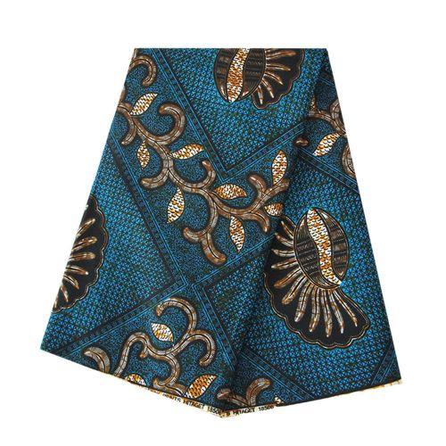6 Yard Hollandais Dutch Wax High Quality Material Super Wax Hollandais Ankara Fabric African Prints Fabric Super Holland Guaranteed 100% Cotton Vintage Embroidered