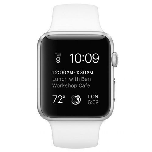 IWatch Series 4 - 40mm GPS+CELL- Silver,Aluminum Case -NIKE EDITION