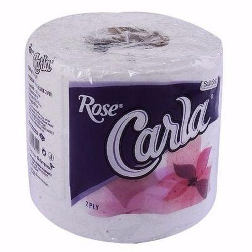Rose Carla White Toilet Tissue - 1 Pack Of 48 Rolls