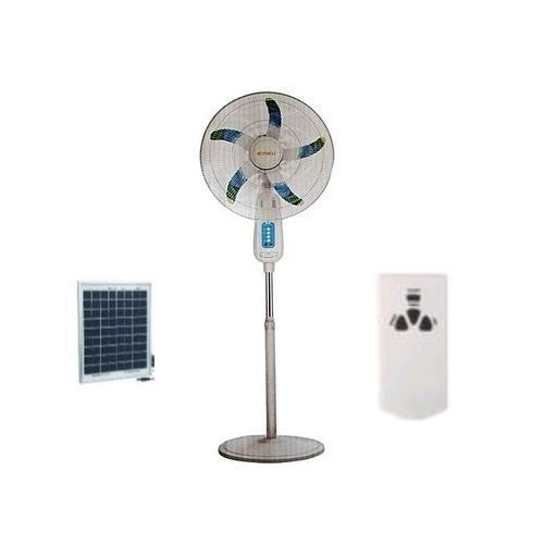 18 Inch Rechargeable Standing Fan With Remote Control + FREE Solar Panel