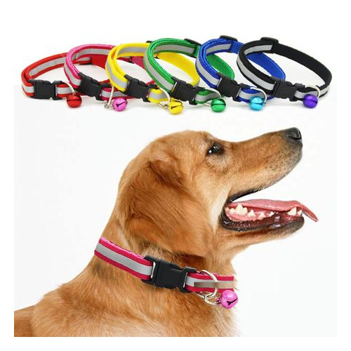 Reflective Collar For Cat Puppy And Small Dogs With Bell