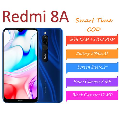 Mi Redmi 8A Global Version 6.22 Inch 2GB+32GB 5000mAh Snapdragon 439 Octa Core 4G Smartphone Mobile Phone