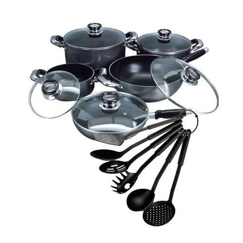 16pcs Non Stick Complete Cookware Set