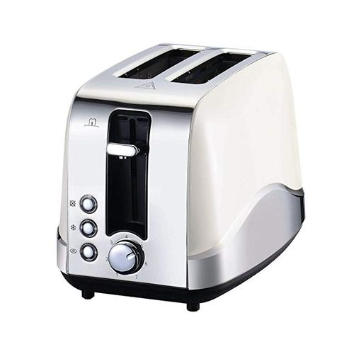 Fortune Candy 2 Slice Stainless Steel Wide Slot Bread Maker Control Toaster