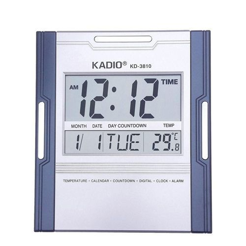 Digital Wall Clock - Square