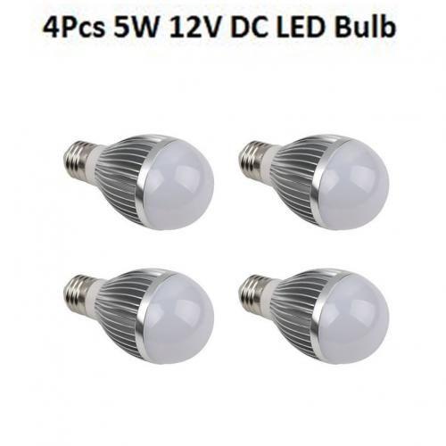 5W 12V DC LED Bulb (Screw Base-E27)