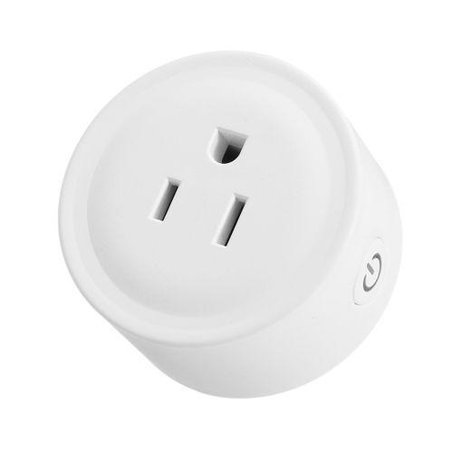 1100W 10A Wi-Fi Smart Plug Mini Outlet Energy Saving Smart WiFi Socket Power Statistics Function