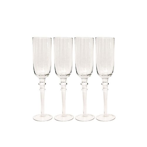 Set Of 4 Champagne Glass