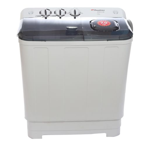 Semi-Automatic 7kg Washing Machine BWM-070B- White