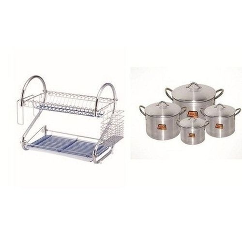 Plate Rack And Pot Bundle........
