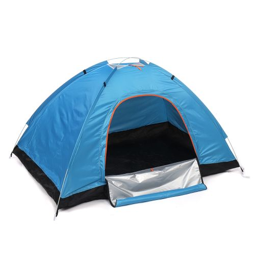 3-4 Person PopUp Dome Tent Camping Hiking