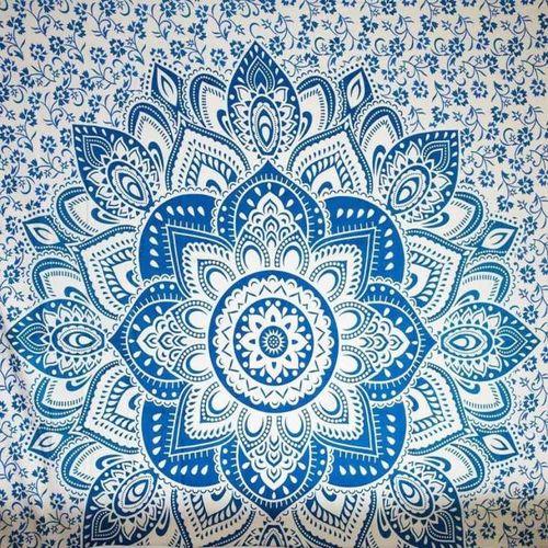 Muliawu Store Beach Cover Up Bikini Boho Summer Dress Swimwear Bathing Suit Kimono Tunic -Blue