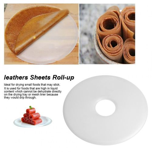 Tray Food Dehydrator Dryer Leathers Fruit Roll Leathers Sheets Roll-up
