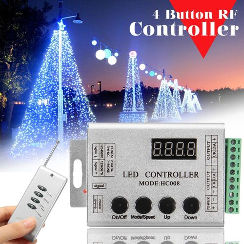 DC12V LED Strip Pixel Bar HC008 RF Controller For WS2812 WS2811 WS2801 LPD6803