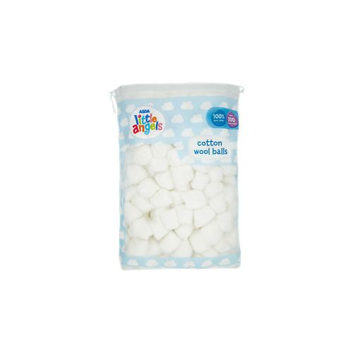 Little Angels Baby Cotton Wool Balls 200pcs UK