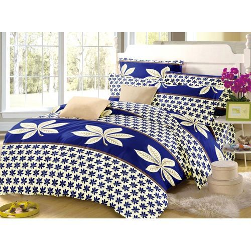 FLOWERED BEDSHEET WITH PILLOWCASES