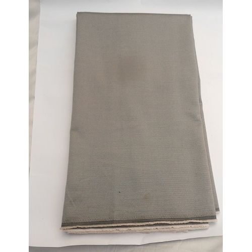 Quality Cashmere Wool Men's Fabric 4 Yards - Grey
