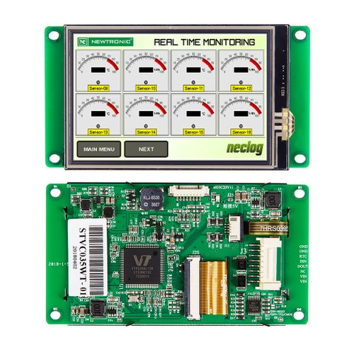 3.5 Inch Programmable TFT LCD Customizable