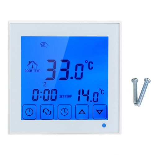 Household Electric Floor Heating Thermostat Temperature Controller Thermoregulator 200~240V
