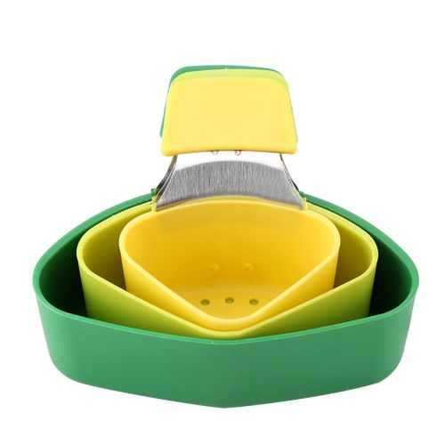 3pcs/set Silicone Food Steaming Cooking Baskets Kit Hanging Type Household Kitchen Tool Cook Pot Food Steaming Plate