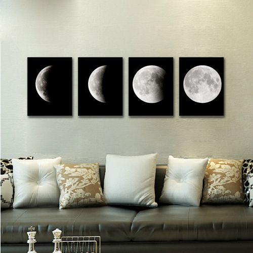 Householding Supplies 3 Panel Unframed Modern Oil Painting Fruit Wall Art Picture Canvas Home Decor-Multicolor