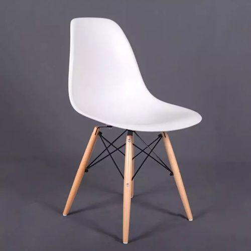 DINING PLASTIC CHAIR WHITE