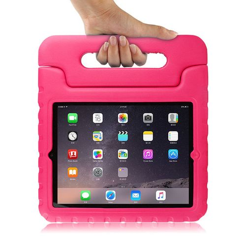 For Ipad 4 Ipad3 Ipad2 9.7 Inch Case Children Silicone-Red