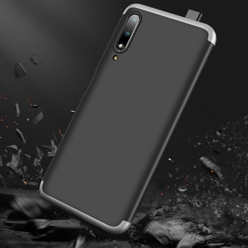 Huawei Y9s 3 In 1 Hard PC Case - Black With Silver
