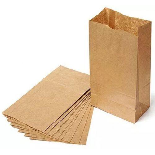 Kraft Brown Paper Bag- 50 Pieces