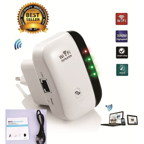 300Mbps Wireless WiFi Repeater/Extender/AP/WI-FI Signal Range Amplifier/Booster, Mini 2.4G Portable WiFi Signal Range Extender With WPS For Router Home