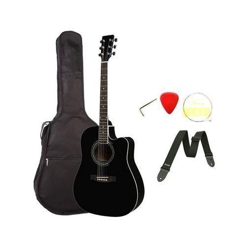 Acoustic Box Guitar - Black 38'' Or 39''