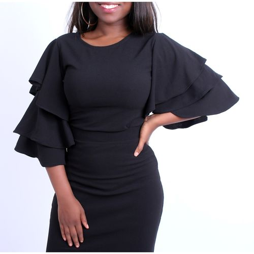 Black Triple Sleeve Top