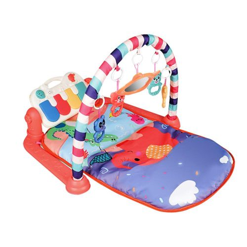 Baby Activity Gym,Vuffuw Deluxe 5-IN-1 Multifunctional Play