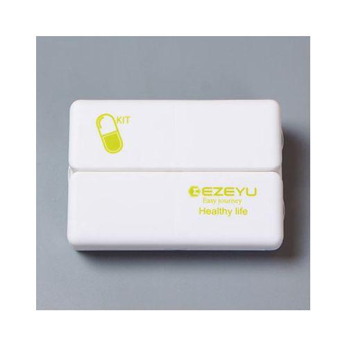 Honana HN-PB005 Portable 7 Compartments Pill Case Foldable Waterproof Magnetic Travel Tablets Organi