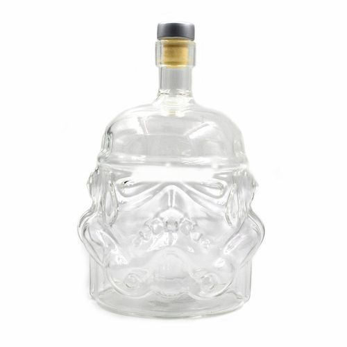 Transparent Creative Whiskey Flask Carafe Decanter Wine Bottle Decanters
