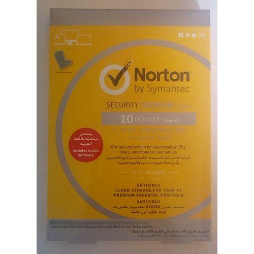 Norton Security Premium 10 User