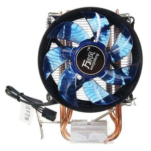 Dual Core Fan CPU Cooler Heatsink For Intel LGA775/1156/1155 AMD New