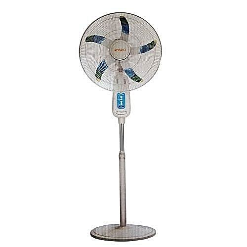 18 Inch Rechargeable Standing Fan With Remote Control