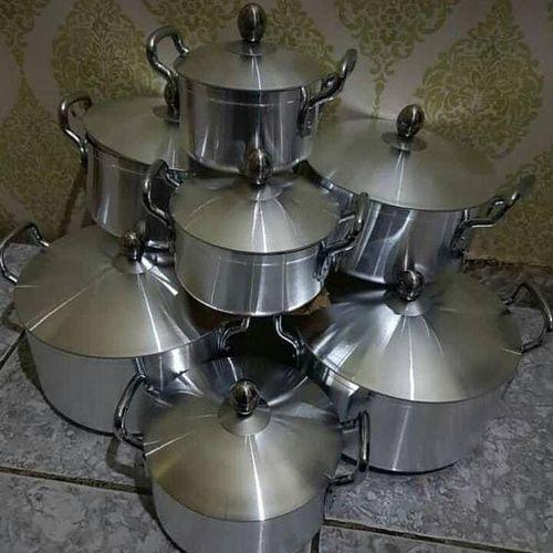 14 Pcs Aluminium 7 Pots Set