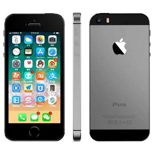 IPhone 5S 16GB Black 4G LTE Fingerprint Unlock 4-inch Screen (Gift:accessories)