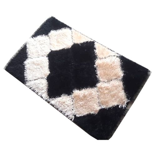 Colored Patterned Foot Mat
