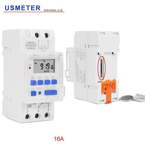 TM919 16A Microcomputer Electronic Programmable Digital TIMER SWITCH Time Relay Control # 110V