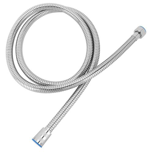 G1/2in Stainless Steel Electroplating Flexible Pull Out Shower Hose Home Bathroom Accessories