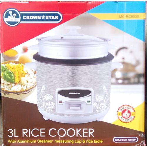 3Ltr Multifunction Rice Cooker
