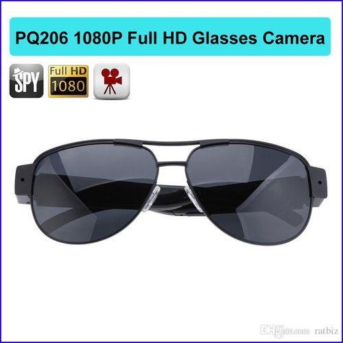 Full HD 1920*1080P Mini DVR Camcorder Camera Sunglasses Video Recorder Large Eyeglass DV Fashion Cam PQ206 1920*1080P Pinhole Sunglasses Camera Hidden Sunglasses Camera Full Hd 1920*1080P Hidden Dark Glasses Camera