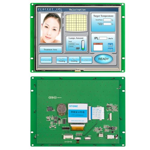 """8.0""""HMI Touch Panel Performance With 4 Wire Resistive"""