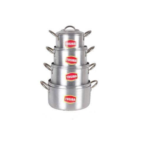 Tower Tower Pot Set - 4 Piece (tower Trim)16,18,20,22cm