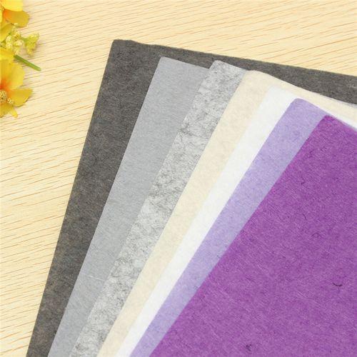 42 Colors/lot Polyester DIY Thick Felt Fabric Nonwoven Handmade Fabric Needle Handmade Sewing Cloth 30cmX20cm